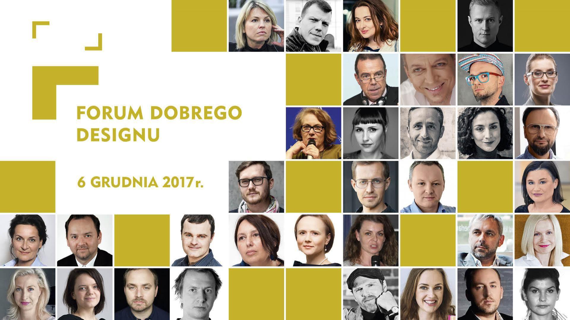 Forum Dobrego Designu odbędzie się 6 grudnia br. w Warszawie.