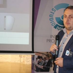 Kamil Sykut, przedstawiciel firmy Ruke.