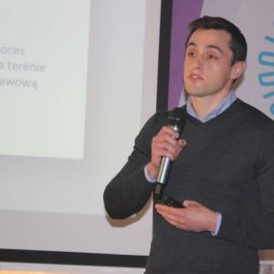 Marcin Wojciechowski, przedstawiciel firmy SFA Poland.