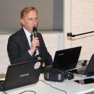 Marcin Pietrzyk, przedstawiciel firmy CAD Projekt.