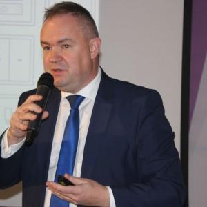 Adam Horbacz, przedstawiciel firmy Jung Polska. Fot. Jung Polska