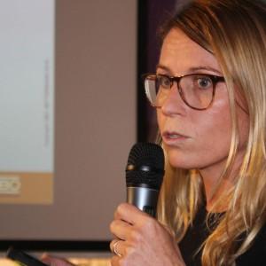 Magdalena Stankiewicz, przedstawiciela firmy OBO Bettermann.