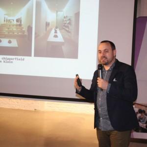 Hugon Kowalski, architekt, właściciel pracowni UGO Architecture - gość specjalny Studia Dobrych Rozwiązań w Poznaniu,