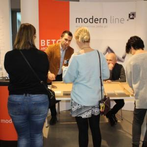 Stoisko firmy Modern Line.