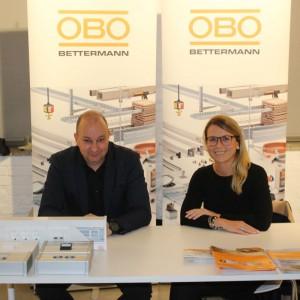 Stoisko firmy OBO Bettermann.