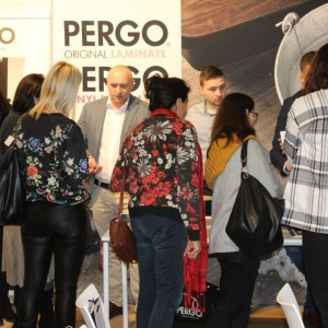 Stoisko firmy Pergo Poland.