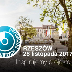 Studio Dobrych Rozwiązań w Rzeszowie odbędzie się 28 listopada 2017 r.