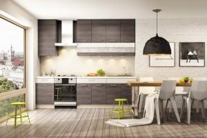 Wysoka zabudowa kuchenna – sposób na funkcjonalne wnętrze
