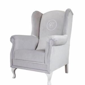 Fotel szary z oferty firmy Caramella. Fot. Caramella