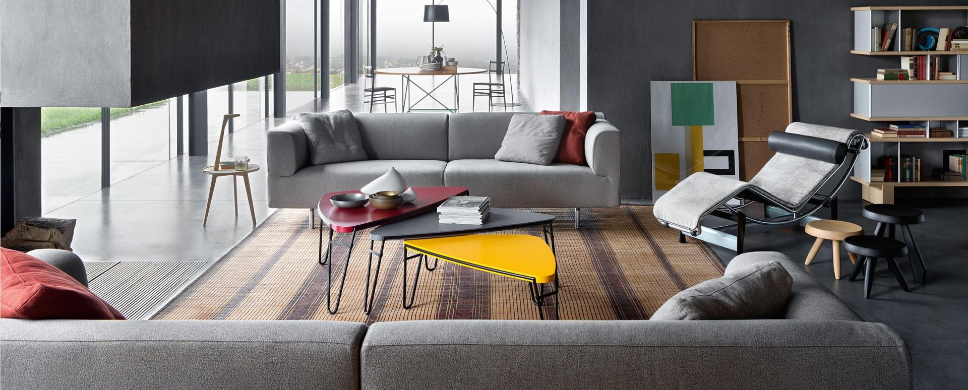 Sofa Met Divano firmy Cassina. Projekt: Piero Lissoni. Fot. Cassina