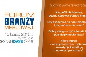 Forum Branży Meblowej - wkrótce kolejna edycja wydarzenia!