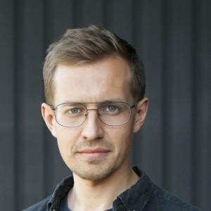 Nikodem Szpunar, projektant, właściciel pracowni Szpunar Studio (Warszawa). Fot. Kornelia Szpunar