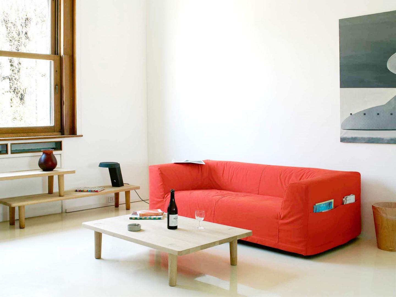 "Sofa ""Camp"" firmy Cappellini. Projekt: jasper Morrison. Fot. Cappellini"