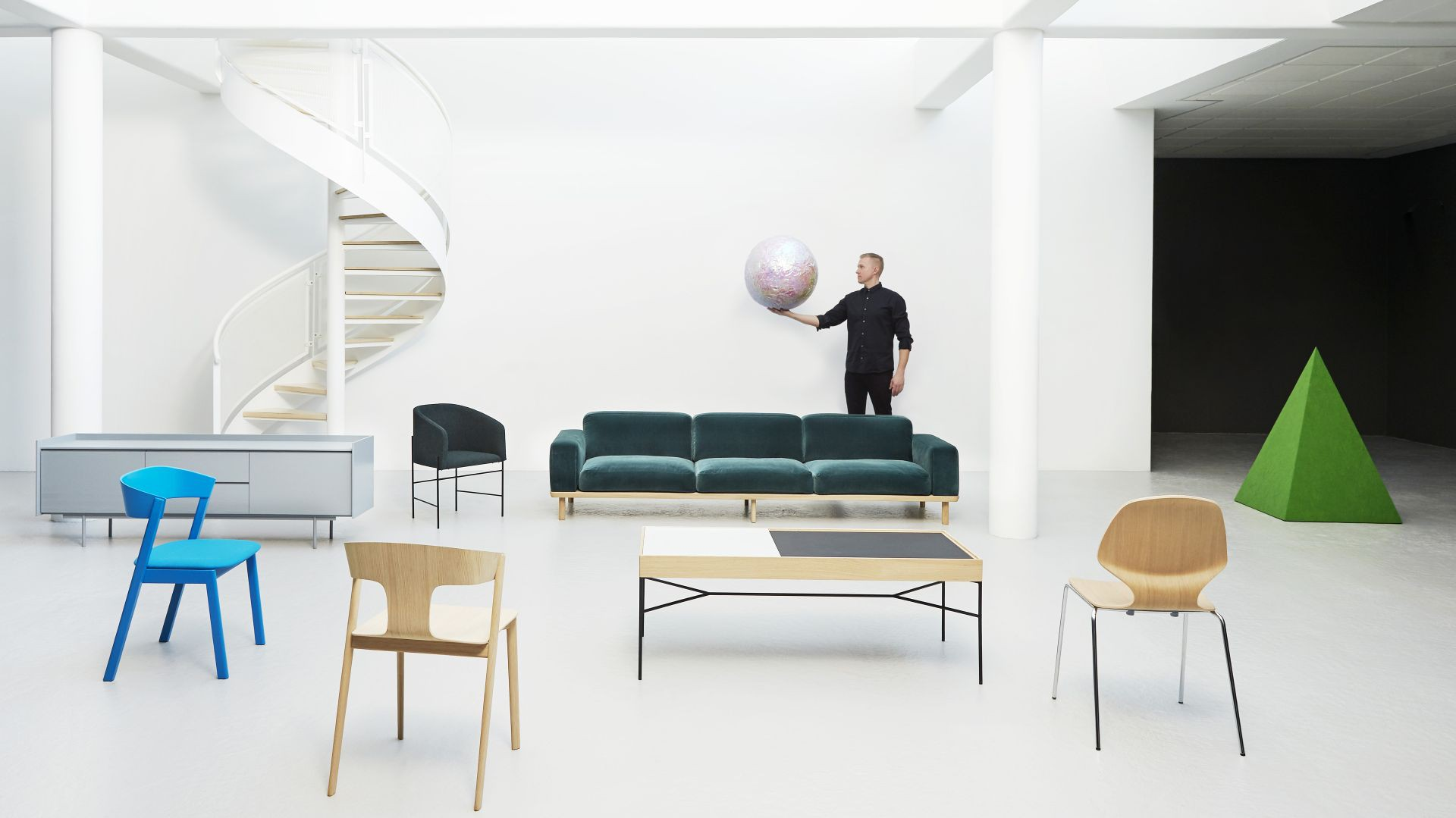 Projekty Rene Hougaarda. Fot ARDE design studio