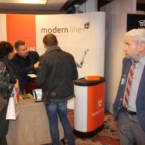 Stoisko firmy Modern Line