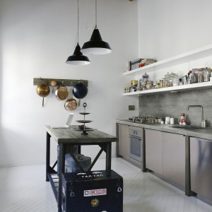 Kuchnia w stylu loft. Fot. Pfleiderer