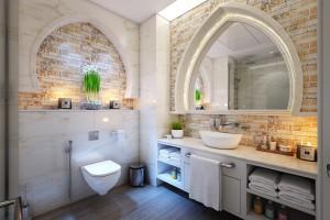 Nowy wymiar łazienki w stylu glamour