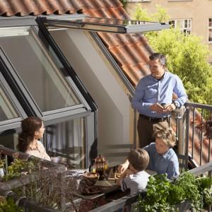 Okno balkonowe, Velux