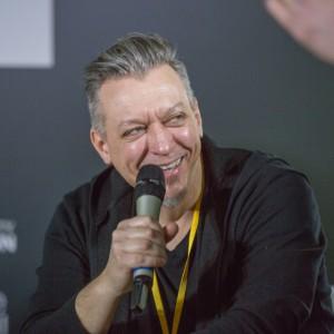 Robert Majkut, architekt wnętrz podczas Forum Dobrego Designu 2017 fot. PTWP