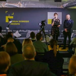 Małgorzata Burzec-Lewandowska i Robert Posytek, Grupa PTWP Publikator, organizatorzy Forum Dobrego Designu 2017