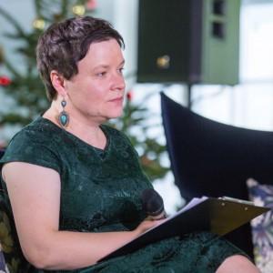 Justyna Łotowska, dyrektor wydawnicza wydawnictwa Publikator. Fot. PTWP