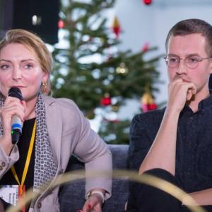 Dominika J. Rostocka, architekt wnętrz, designer, prezes i główny projektant w Creative Coop. Architects podczas Forum Dobrego Designu 2017 fot. PTWP
