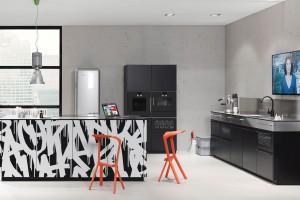 Czarno-biała kuchnia - zawsze elegancka i na czasie