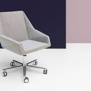 Fotel Prism. Projekt Krystian Kowalski dla Noti