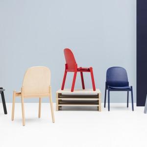Krzesła Nordic. Projekt Krystian Kowalski dla Noti