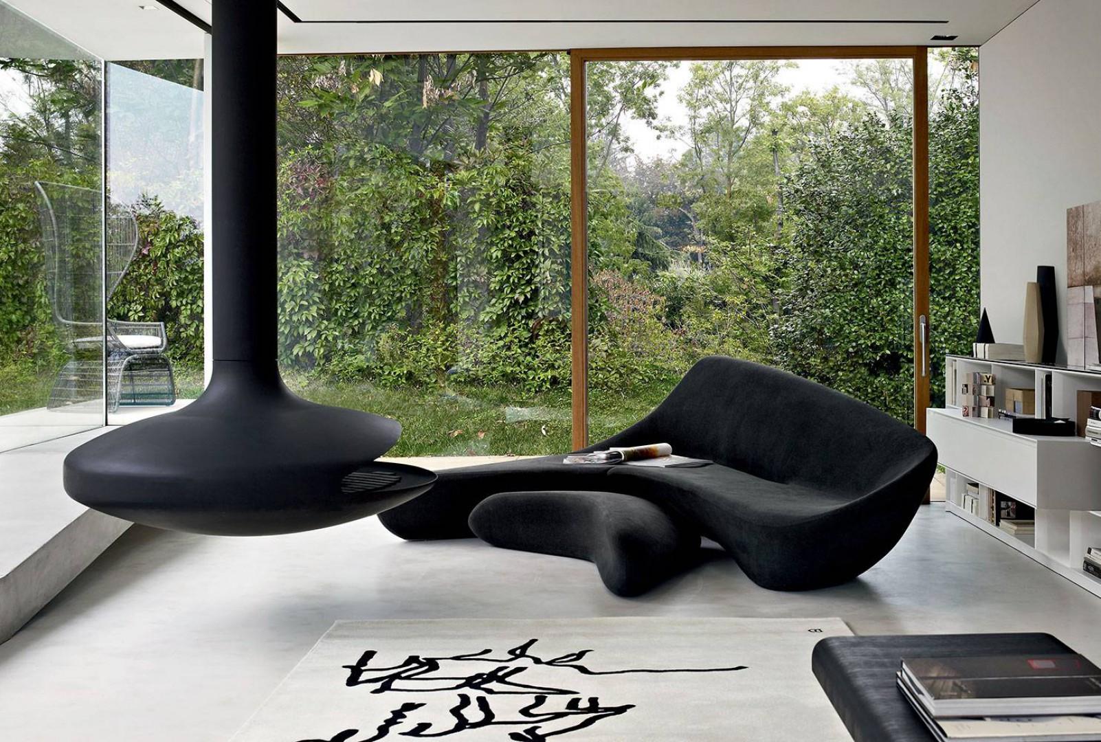 Sofa Moon firmy B&B Italia. Projekt: Zaha Hadid. Fot. B&B Italia