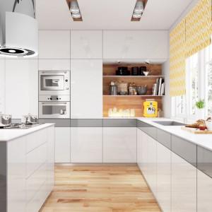 Zabudowa kuchenna wykonana z płyt