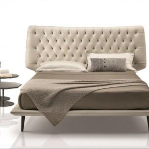Łóżko firmy Natuzzi. Fot. Natuzzi
