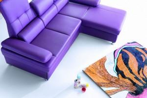 Fiolet - to może być kolor roku 2018 w aranżacji wnętrz!