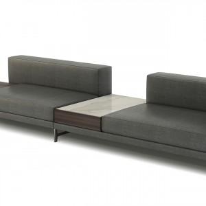 Sofa włoskiej marki Natuzzi.