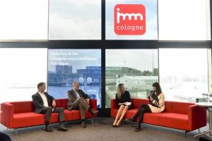 Rozmowy i dyskusje podczas targów IMM 2018 w Kolonii