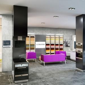 Ekspozycja w salonie sieci Verle Küchen&Siemens. Fot. Verle Küchen&Siemens
