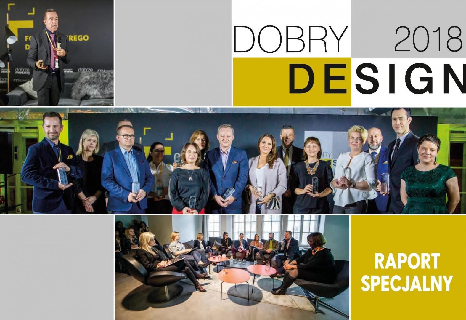 Raport specjalny - Dobry Design 2018