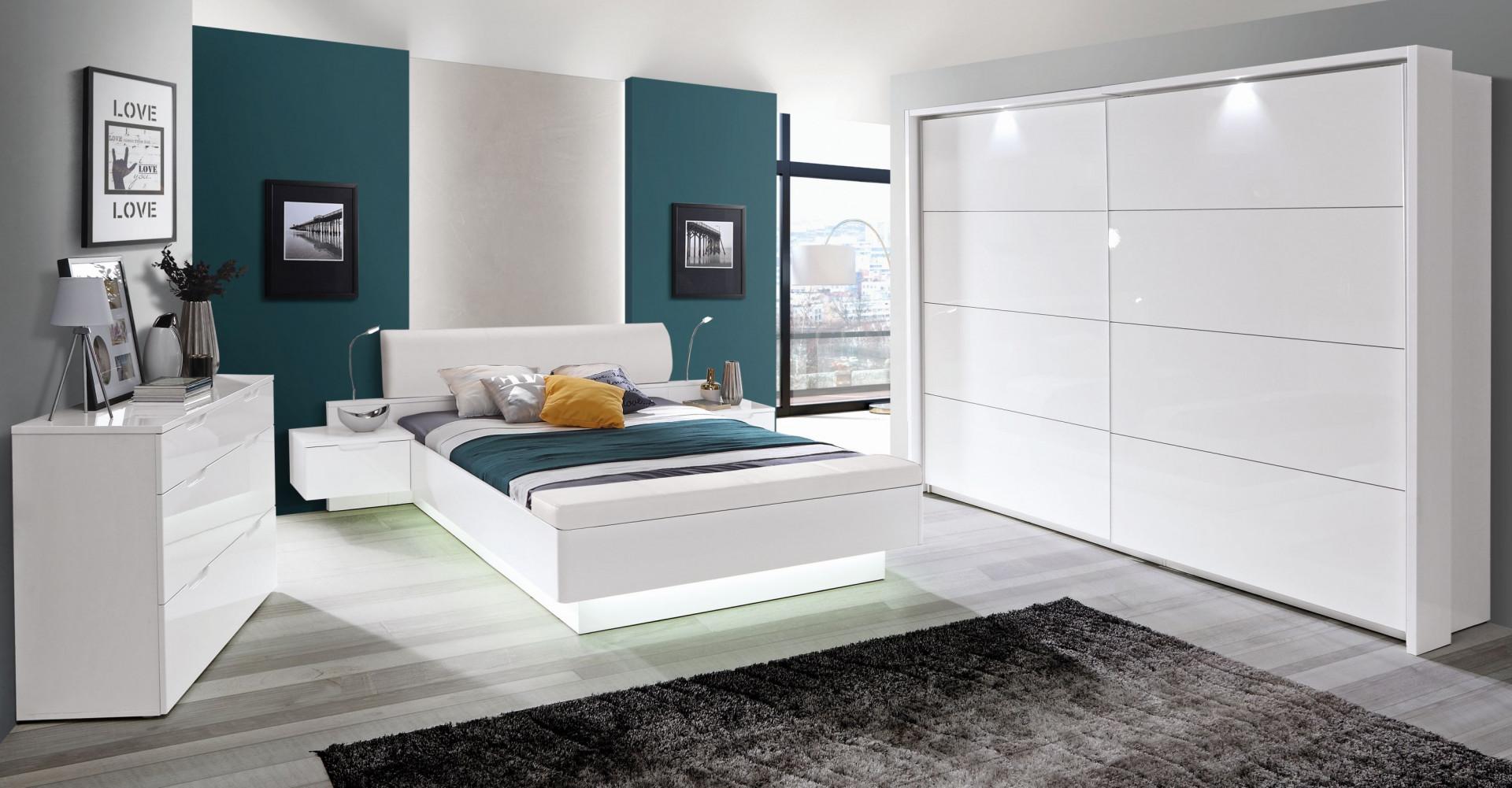 Sypialnia Starlet White. Fot. Forte