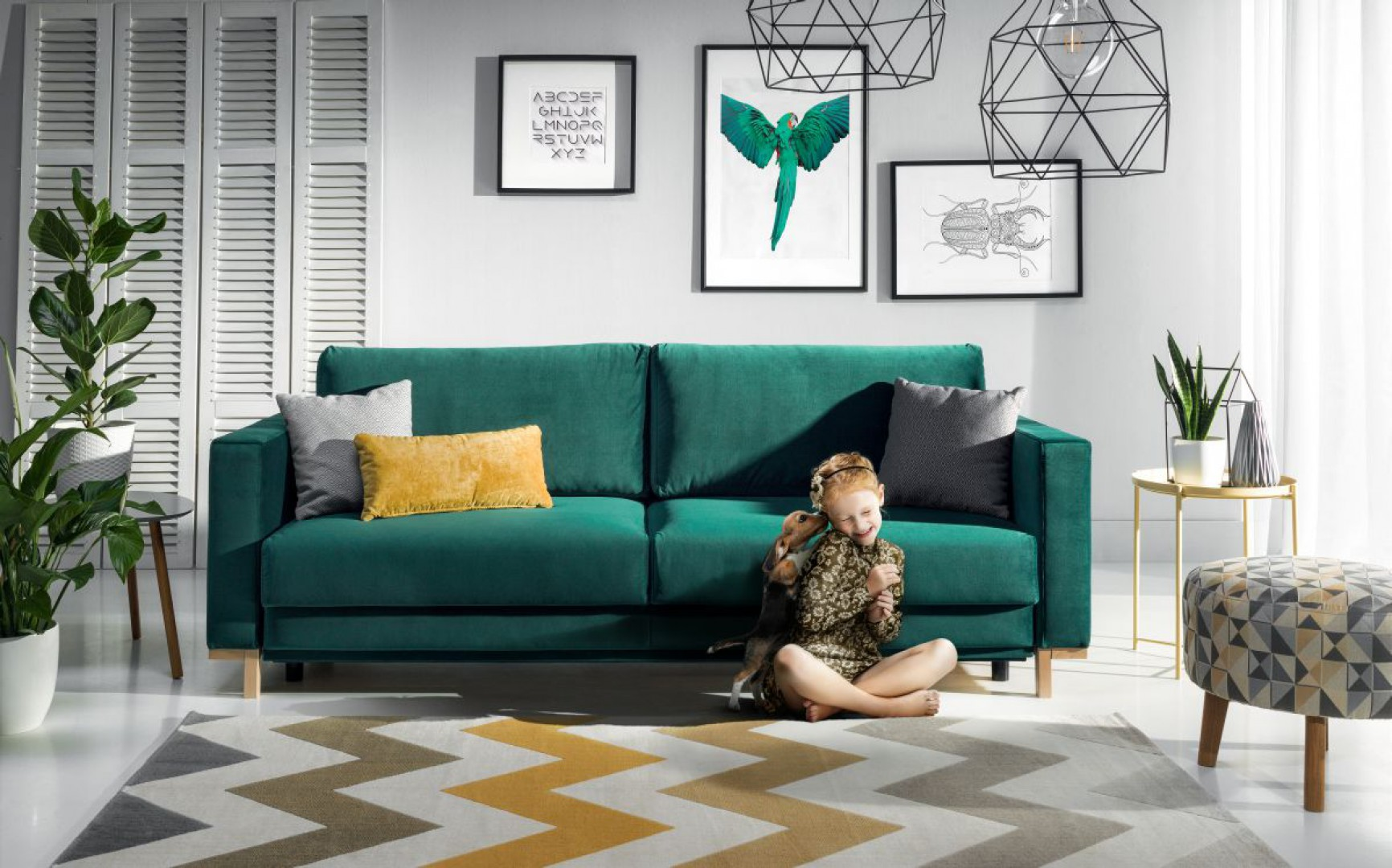 "Sofa ""Modo"" firmy Wajnert Meble. Fot. wajnert Meble"