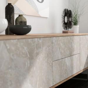 Struktury betonowe i kamienne. Dekor Veneto firmy Interprint. Fot. Interprint