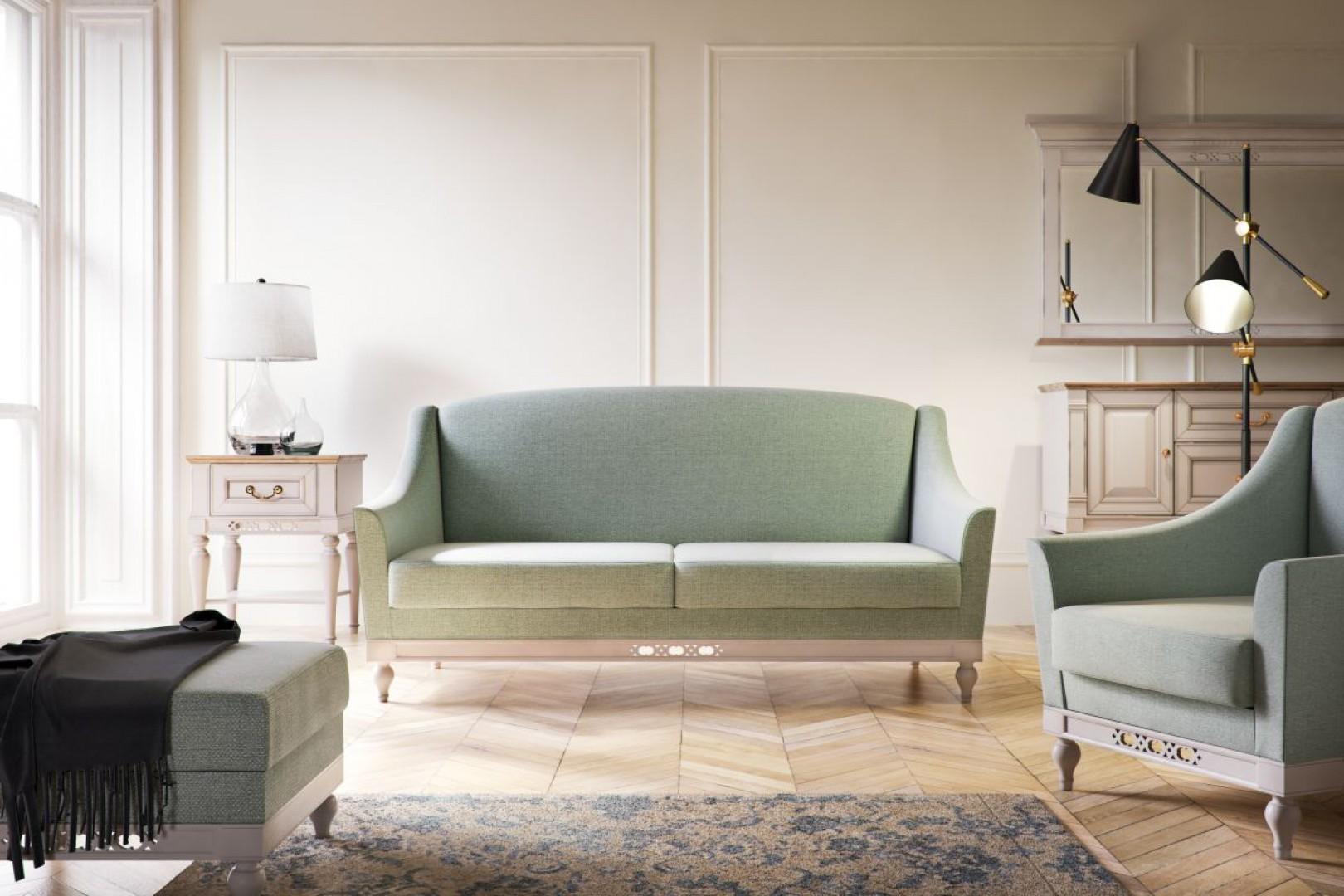 Sofa dwuosobowa z kolekcji Florencja.