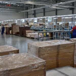 Hala produkcyjna Telmex w Piszu