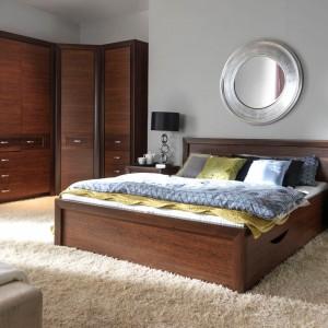 W łóżku Paris pojemnik na pierwszy rzut oka jest prawie niewidoczny. Fot. Agata