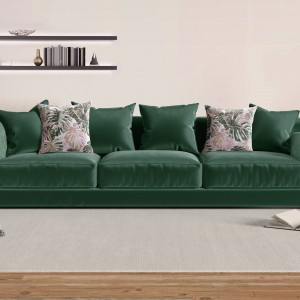 Sofa tapicerowana tkaniną