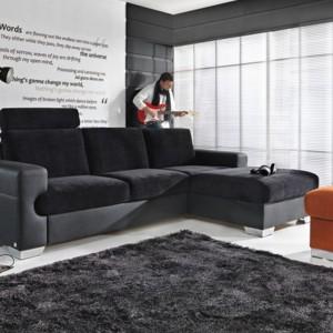 Przytulna kanapa narożna z kolekcji