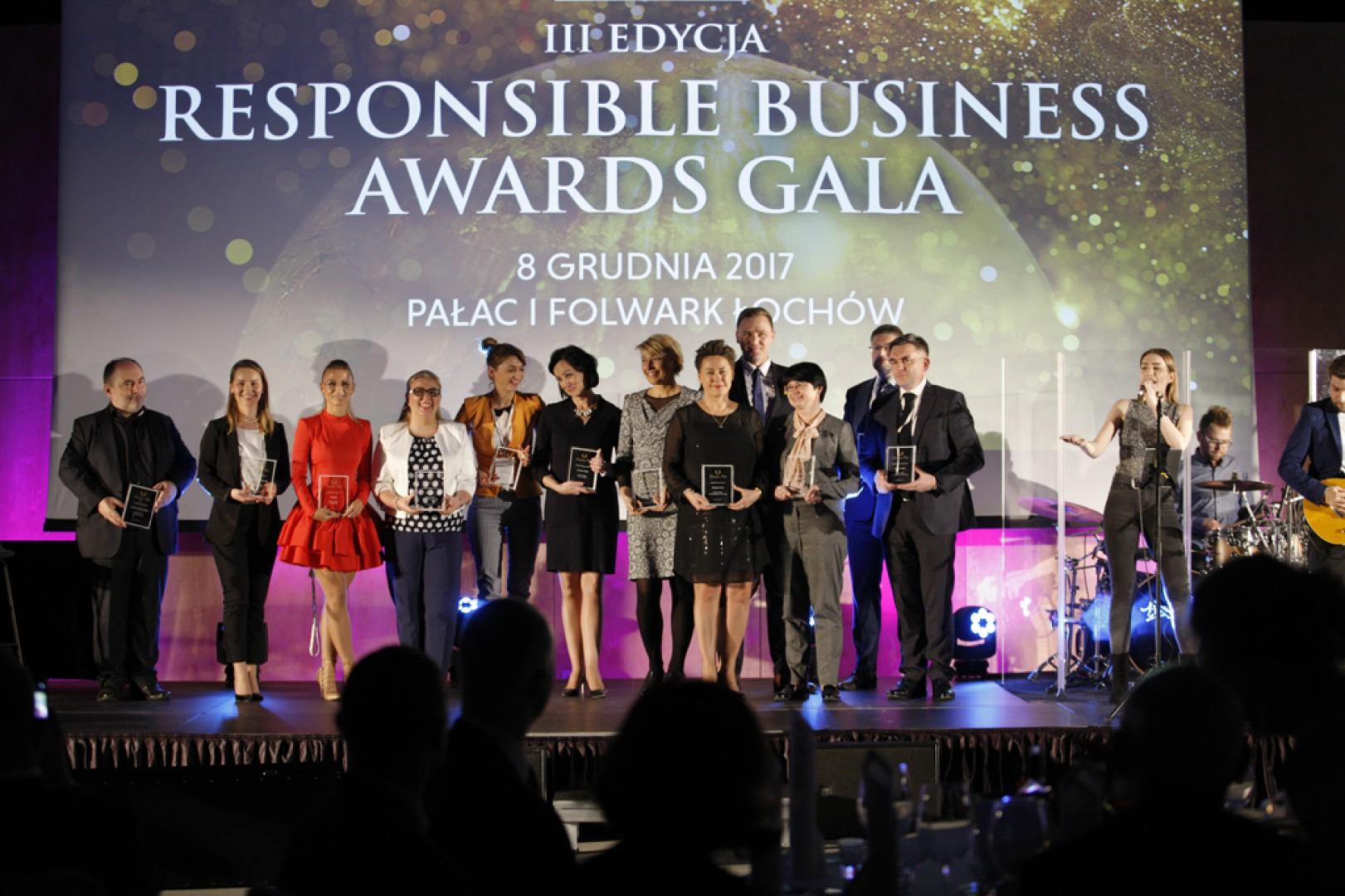 Gala wręczenia nagród Responsible Business Awards