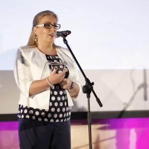 Statuetkę odebrała Magdalena Tokarczyk-Cyran, Dyrektor Marketingu i PR Grupy Nowy Styl