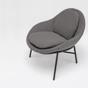 Fotel Oyster - projekt dla marki Comforty, 2015 rok