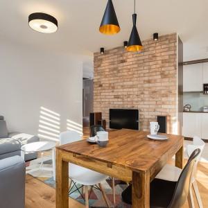 Przytulne mieszkanie dla dwojga. Projekt Joanna Zawicka