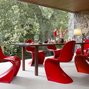 Krzesło Pantone firmy Vitra. Projekt Verner Pantone. Fot. Vitra